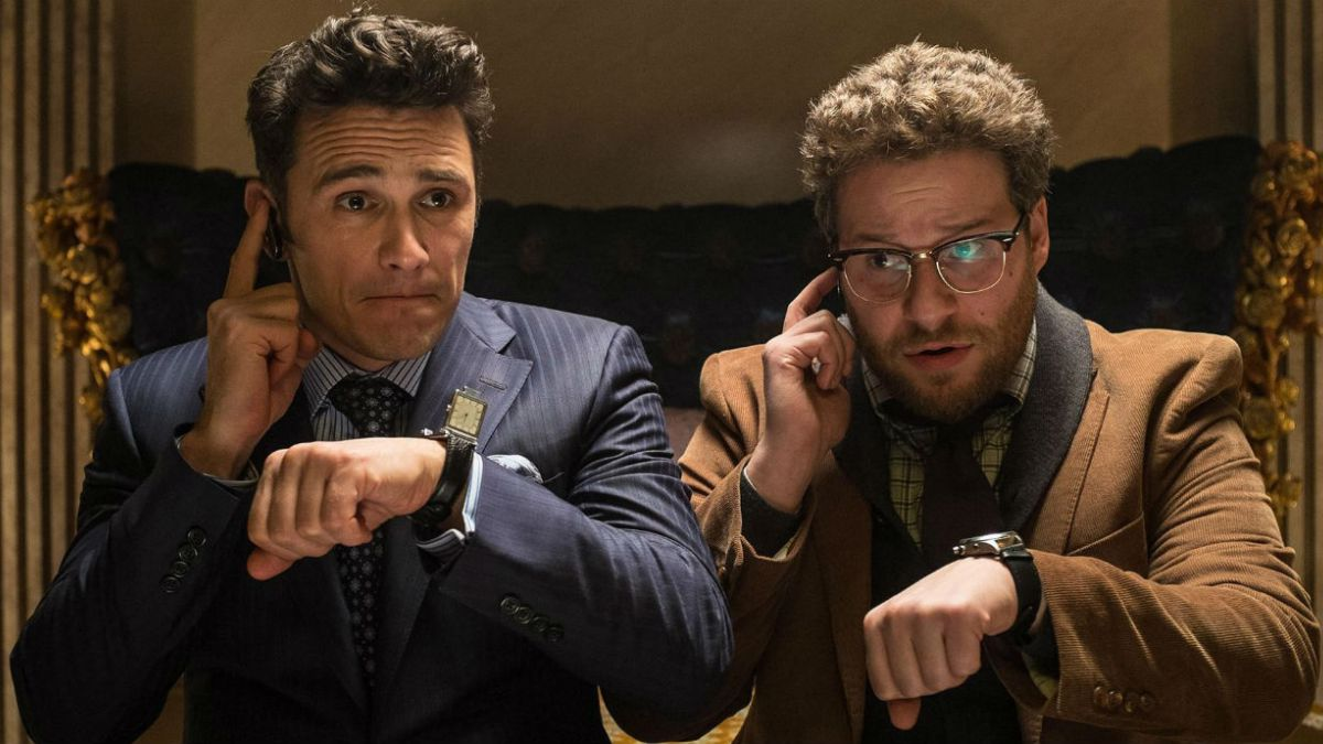 James Franco y Seth Rogen se emocionaron en Twitter por The Interview