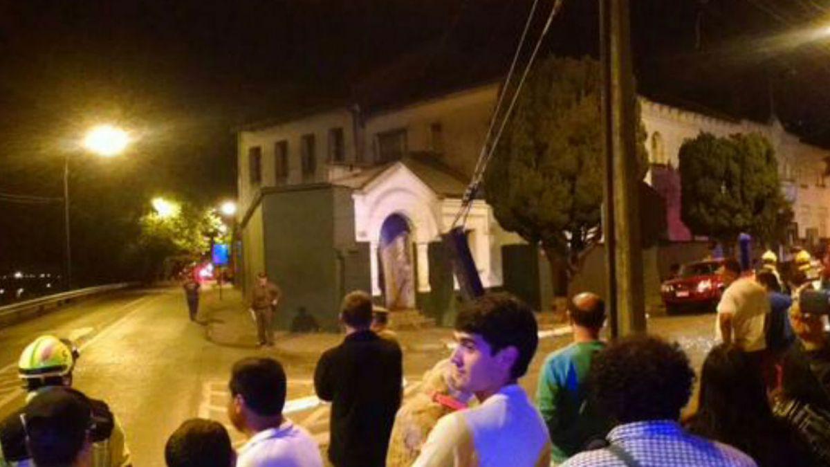 Artefacto explosivo detona en comisaría de Temuco