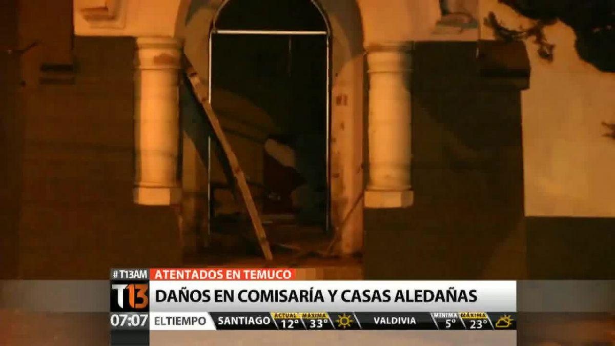 Bombazos en Temuco: Gobierno presenta hoy querella invocando Ley Antiterrorista