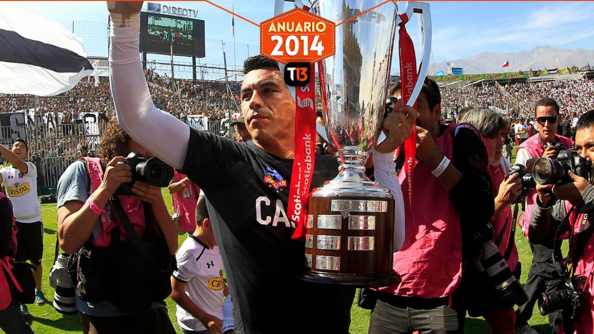 Los 11 jugadores que brillaron este 2014 en el fútbol chileno