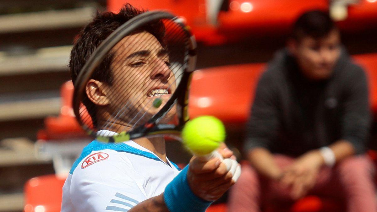 Christian Garín queda eliminado en semifinales del Futuro Chile 12