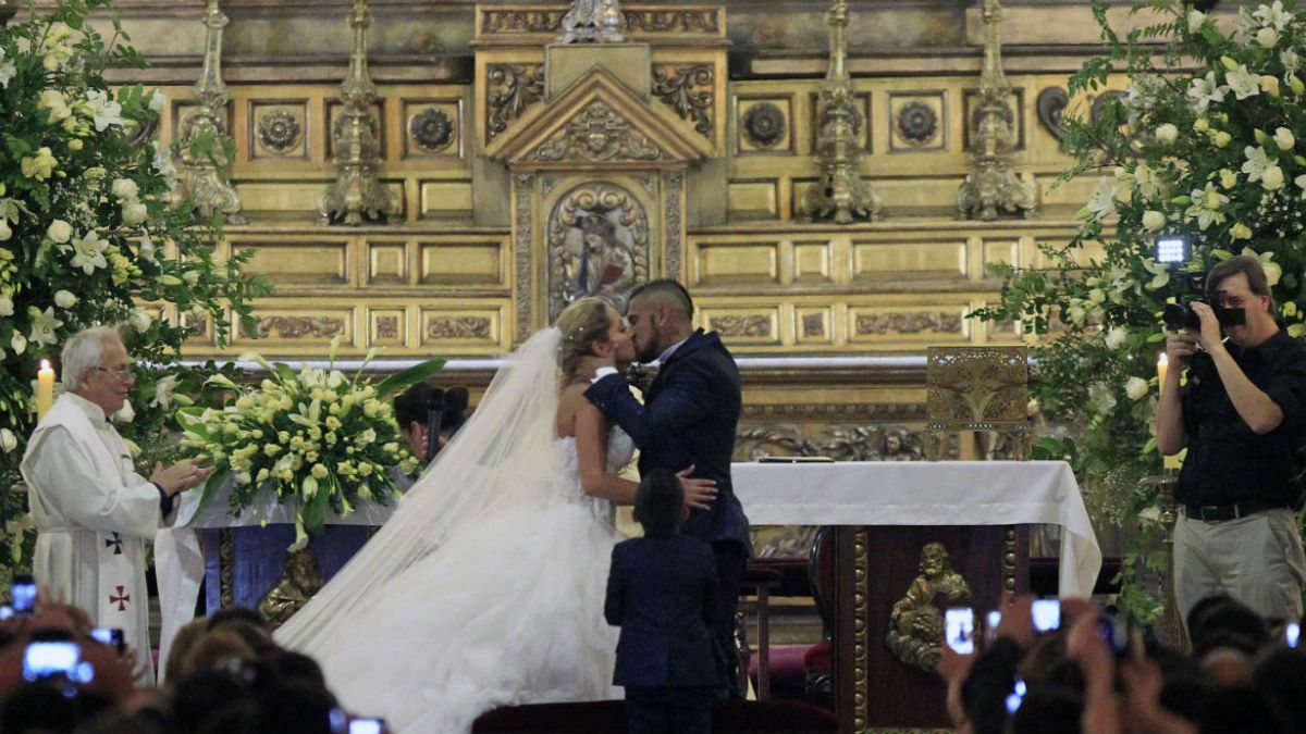 [FOTOS] Las mejores imágenes del matrimonio de Arturo Vidal