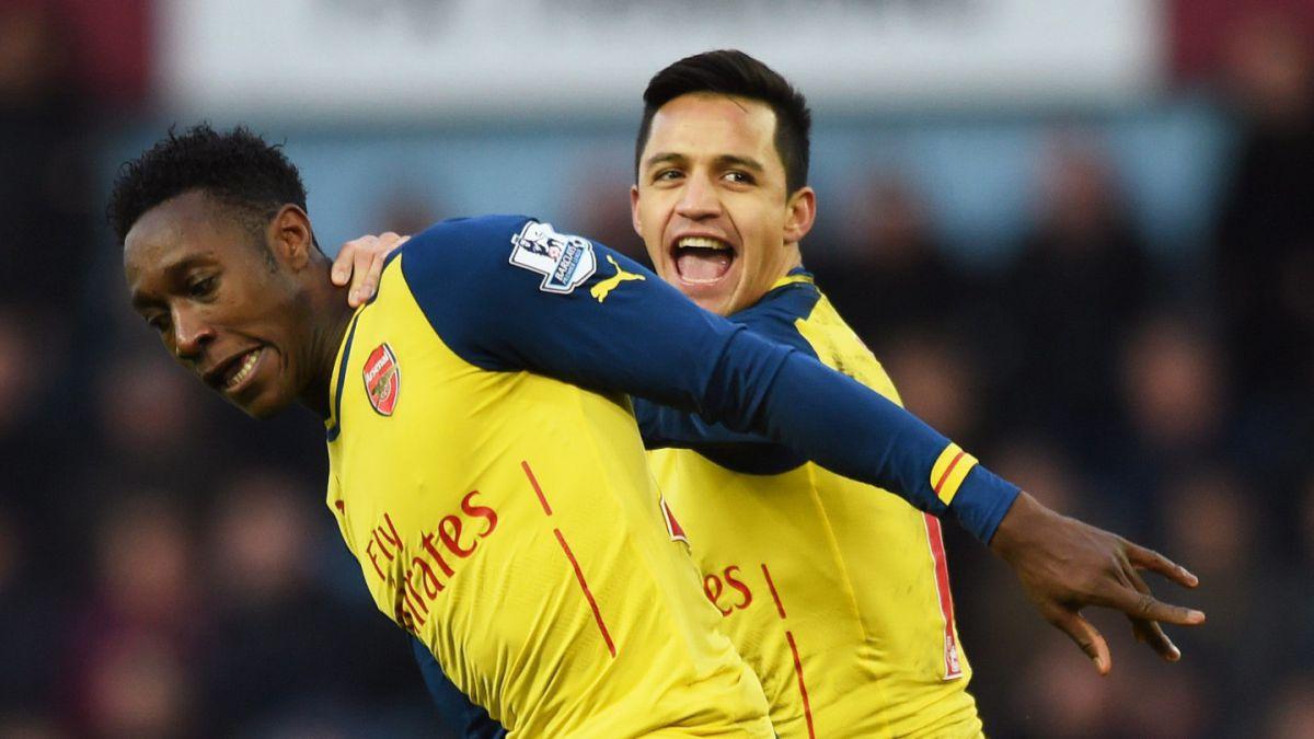 Arsenal de Alexis sigue en alza y cierra el año derrotando al West Ham