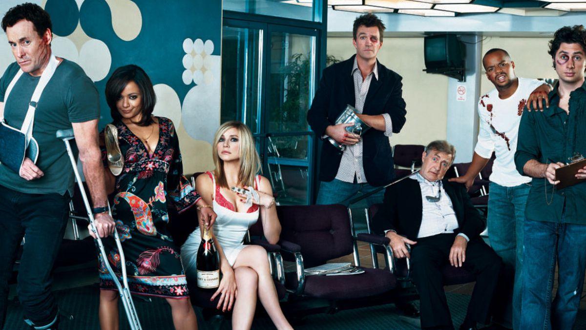"""[FOTO] Protagonistas de """"Scrubs"""" se reúnen a cuatro años del fin de la serie"""