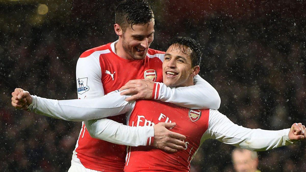Duracell, el nuevo apodo de Alexis en Arsenal FC