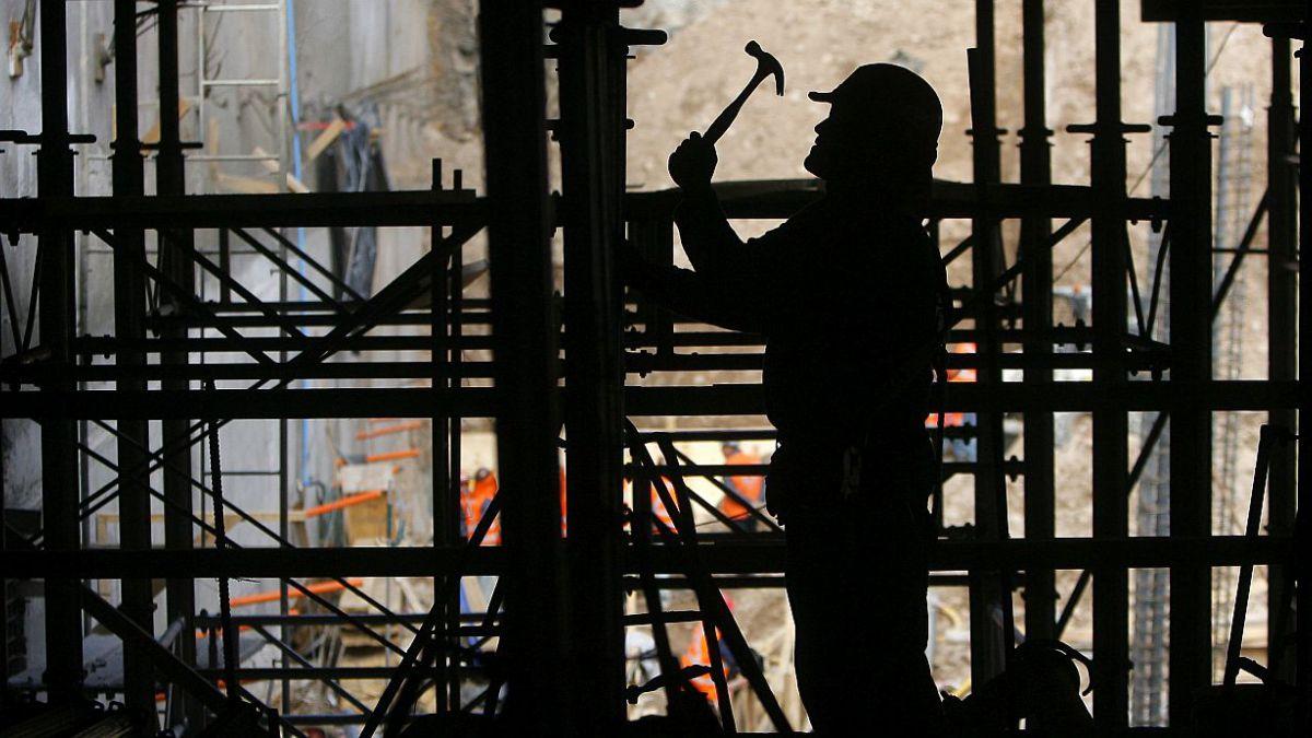 CChC: Actividad de la construcción cae en febrero y completa nueve meses en terreno negativo