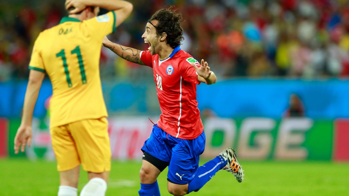 [VIDEO] El inolvidable debut de Chile en el Mundial de Brasil 2014