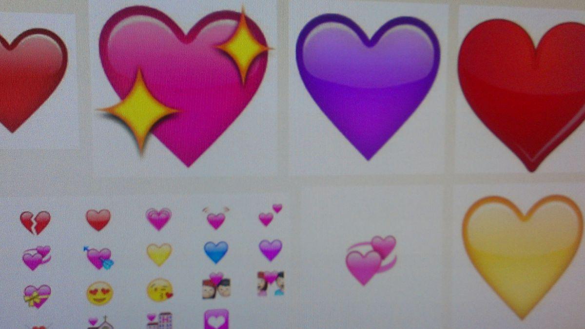 Este emoji ♥ fue el concepto más usado del año en inglés