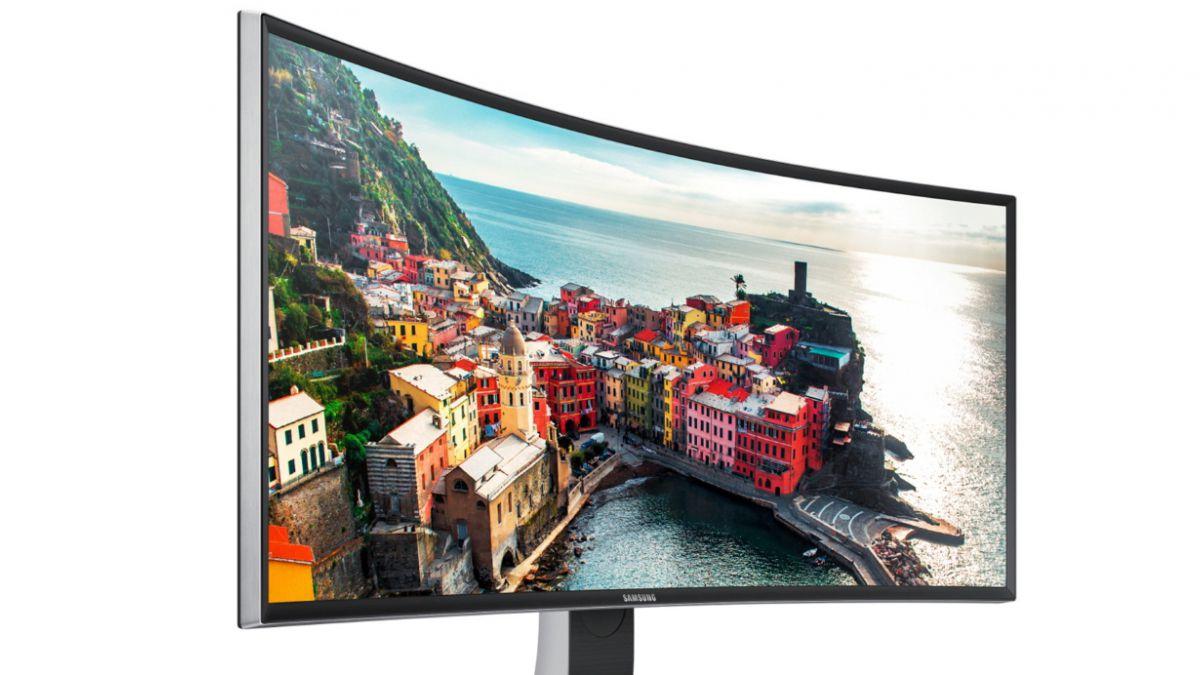 Presentan nuevos monitores curvos hechos para los videojuegos