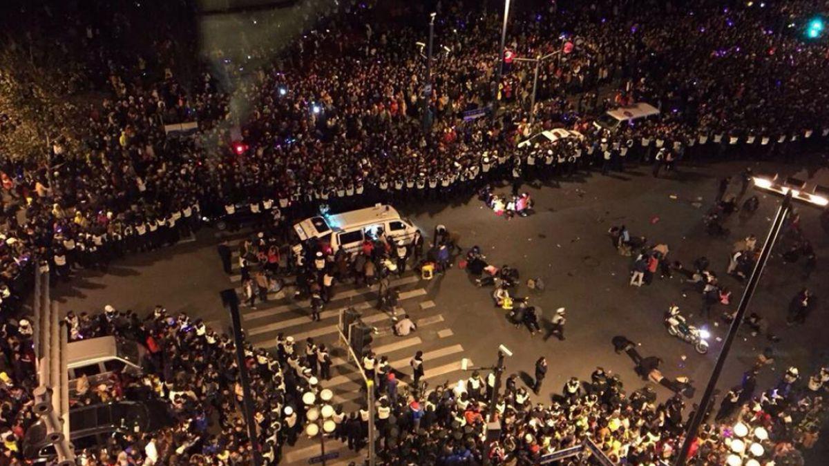 Año Nuevo 2015: Al menos 35 personas muertas y 42 heridas tras estampida en Shanghai