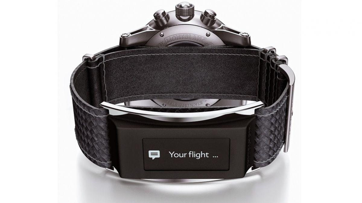 Marca de lujo presentó correa inteligente para relojes