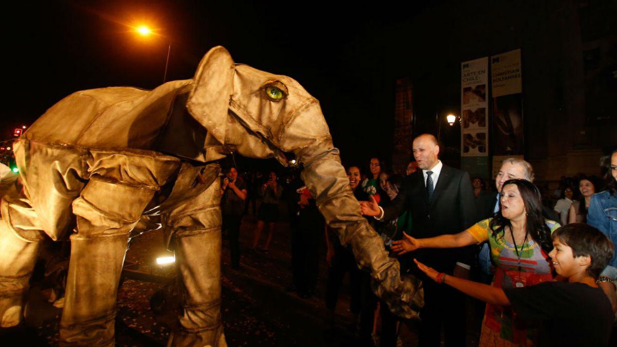 Santiago a Mil convoca medio millón de personas en 2015