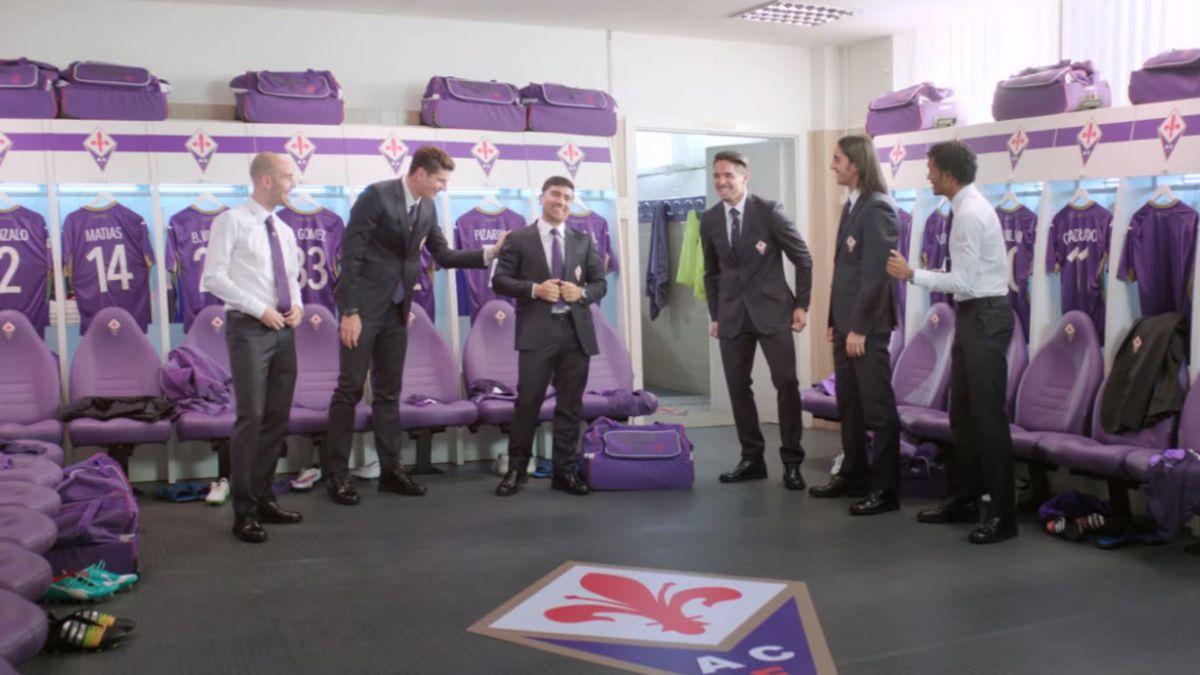 [VIDEO] David Pizarro protagoniza comercial para nuevo sponsor de Fiorentina