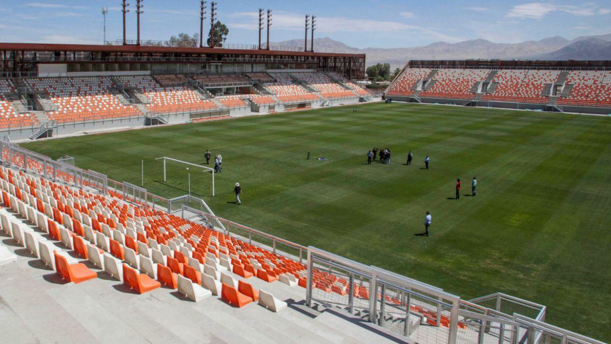 Estadio de Calama no podrá recibir el amistoso entre Chile y Estados Unidos