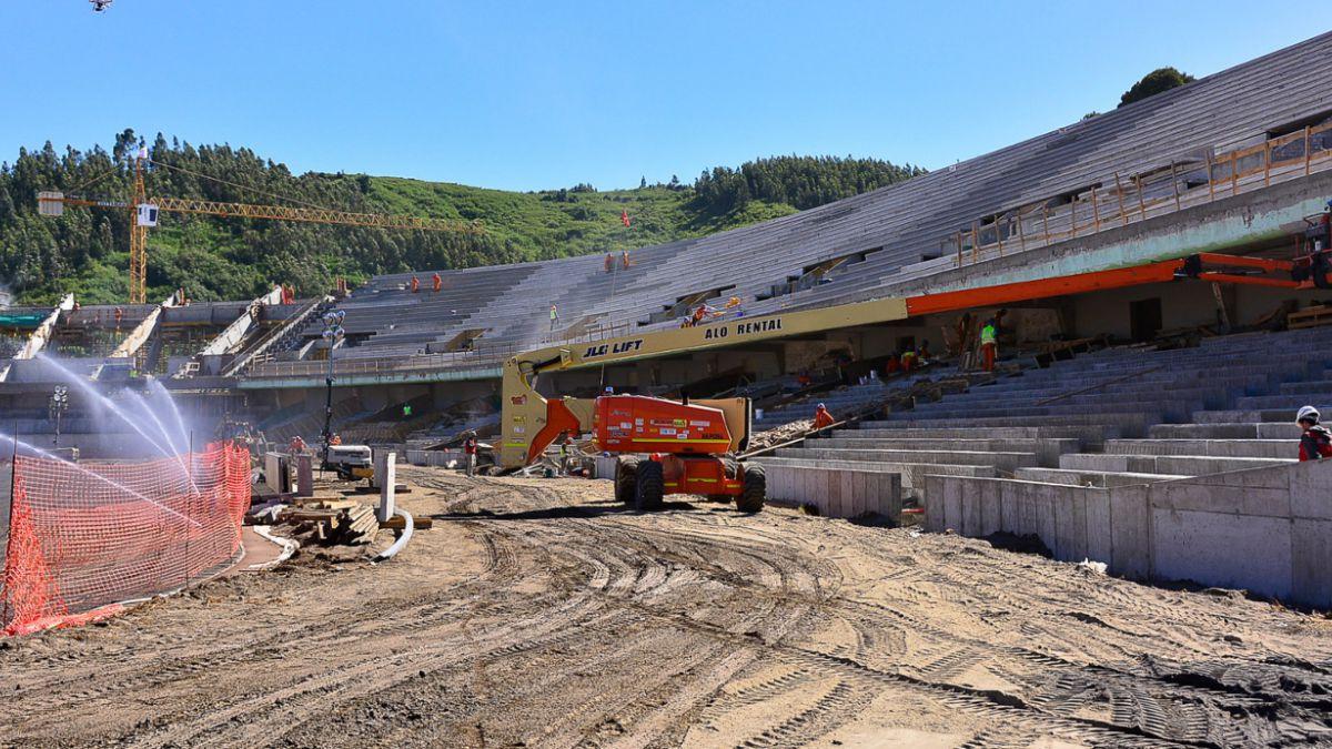 Estadio de Concepción no se entregará en los plazos estipulados