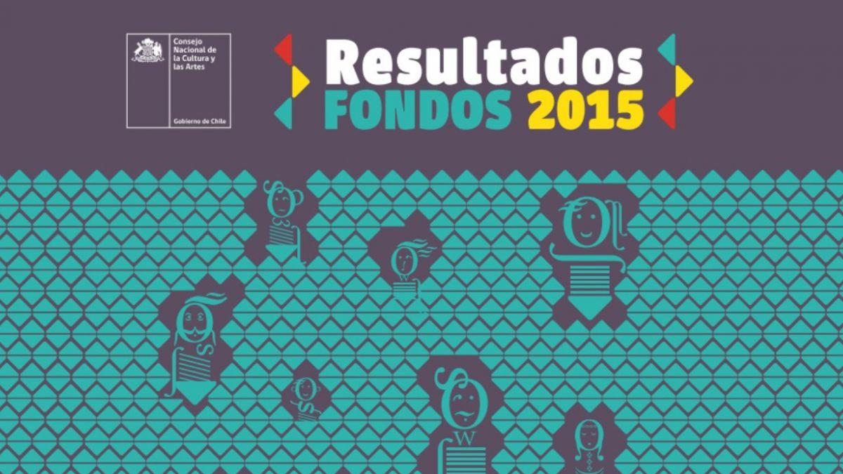 Fondos de Cultura 2015: resultados revelan 12,7% de aumento en recursos asignados