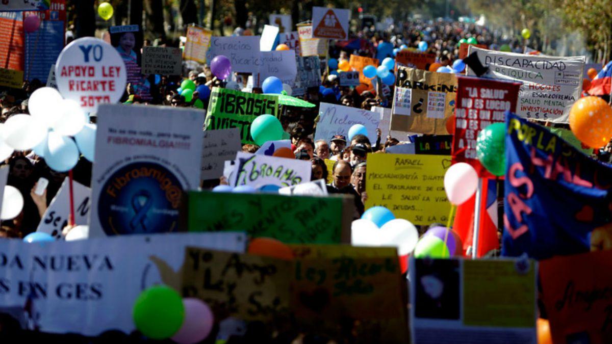 Anuncian marcha para exigir aprobación de Ley Ricarte Soto