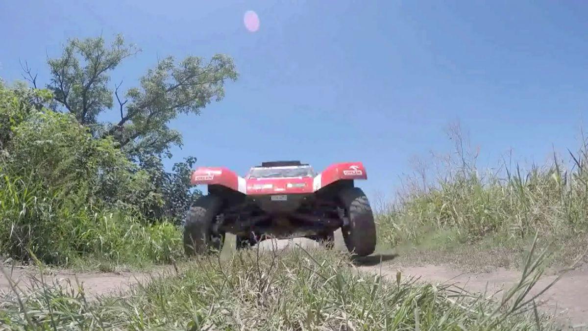 [VIDEO] GoPro capta ángulos inéditos del paso de vehículos en el Rally Dakar