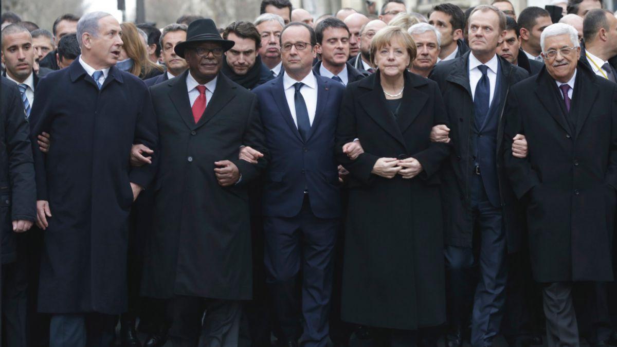 Francia: Más de 2,5 millones de personas asistieron a marcha por la unidad en Paris