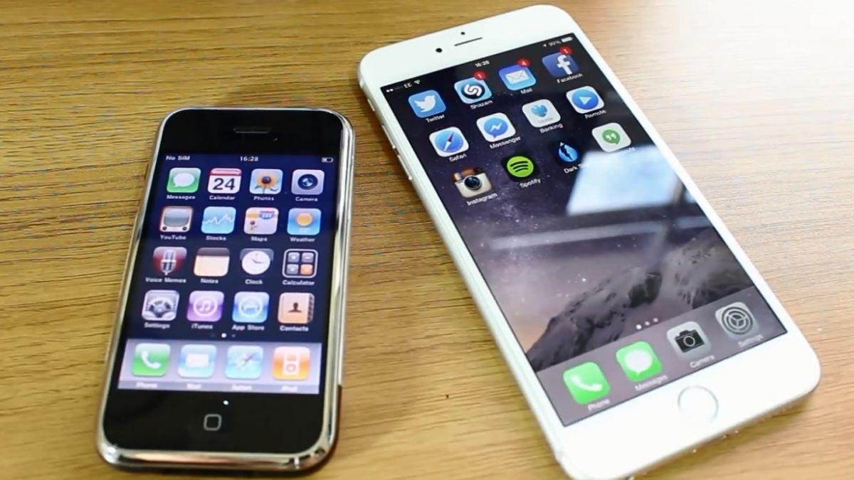 A 8 años de su debut, ¿en qué se parece el iPhone original al 6 Plus?