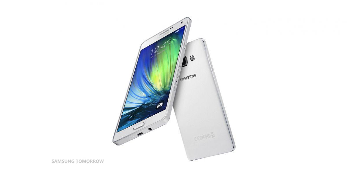 Samsung presentó nueva línea de teléfonos metálicos