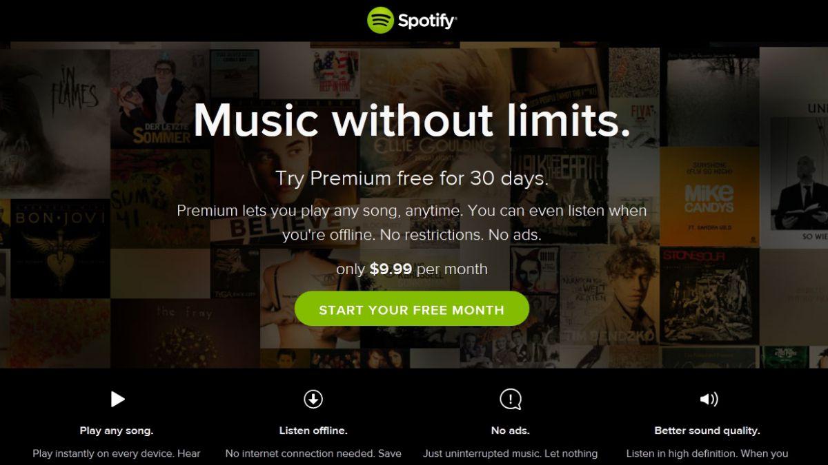Spotify llegó a 15 millones de suscriptores premium