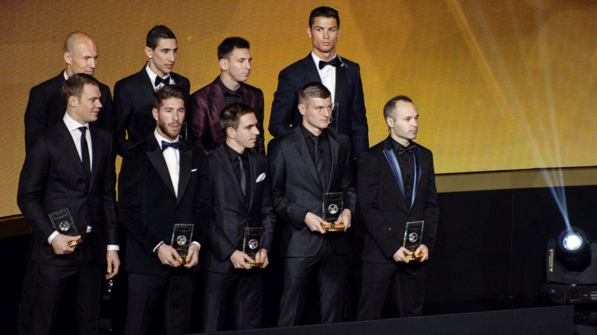 El voto de Claudio Bravo en el Balón de Oro 2014 fue para Lionel Messi
