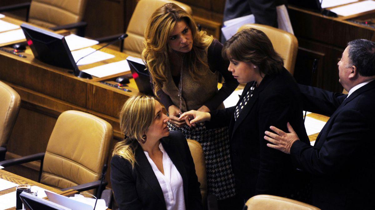 Diputadas UDI critican a Presidenta Bachelet en debate por aborto