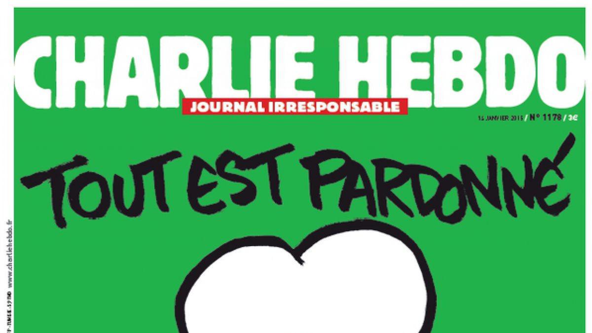 Esta será la nueva portada de Charlie Hebdo