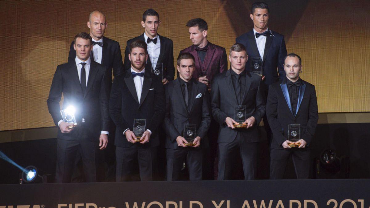 Así fue el voto de los jugadores chilenos para escoger el Once Ideal FIFA FIFPro 2014
