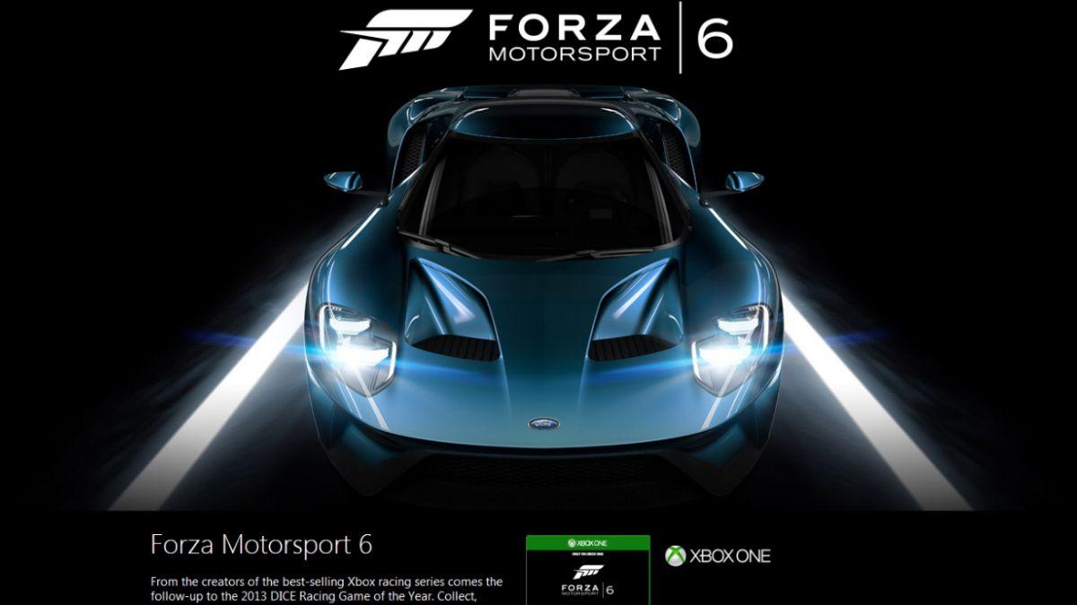 Video: Xbox reveló nueva versión del juego de carreras Forza