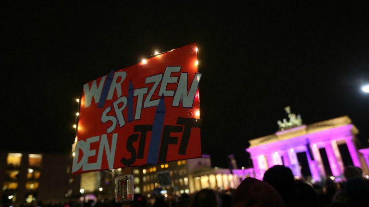 Masiva manifestación contra la islamofobia en Alemania