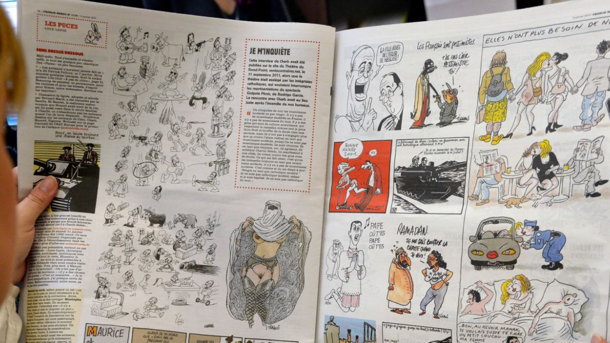 Estas son las viñetas del esperado número especial de Charlie Hebdo