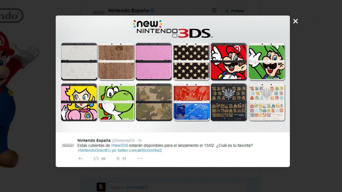 Nintendo presentó dos nuevas consolas portátiles