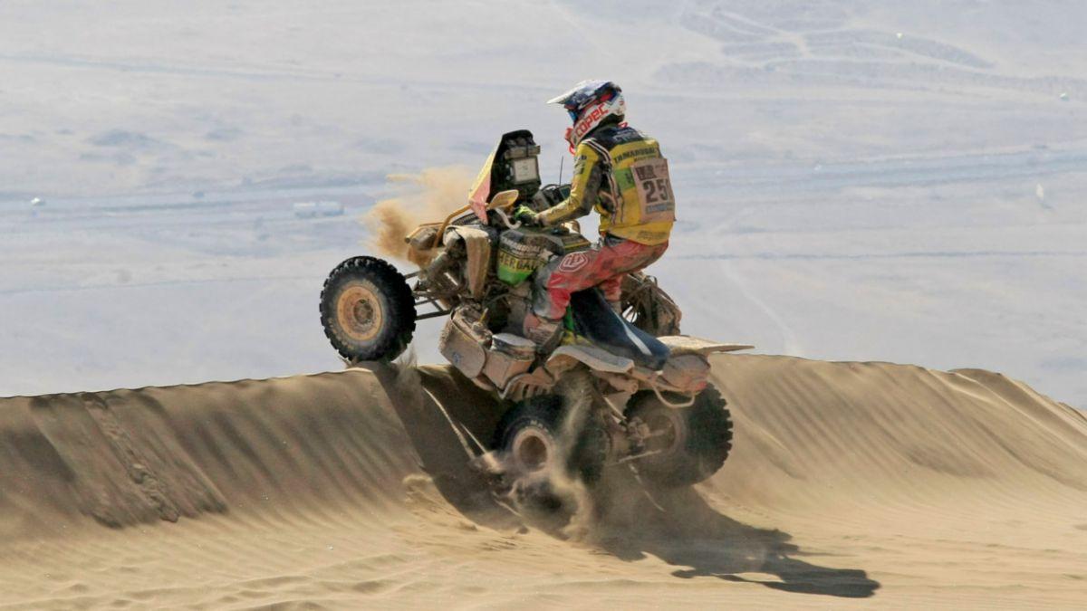 Ignacio Casale abandona el Rally Dakar 2015 por problemas mecánicos