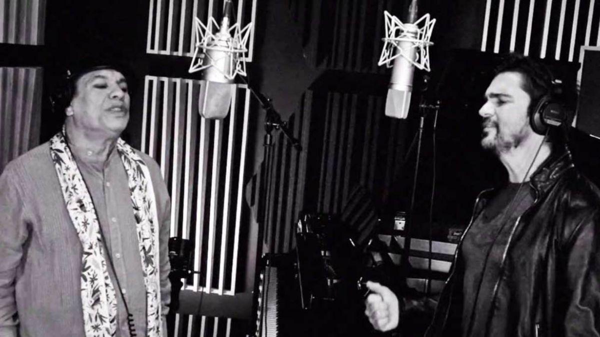 [VIDEO] Así fue la versión del clásico Querida con la que Juan Gabriel y Juanes sorprendieron