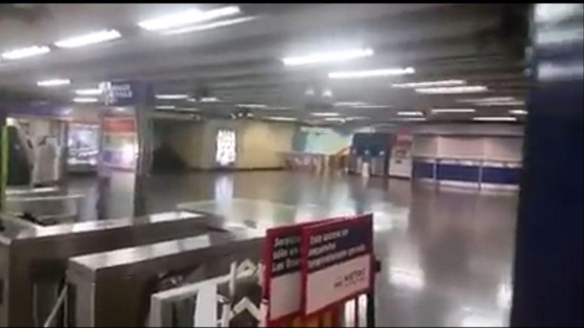 [VIDEO] Así fue la explosión en Metro Los Leones tras intento de robo a cajero