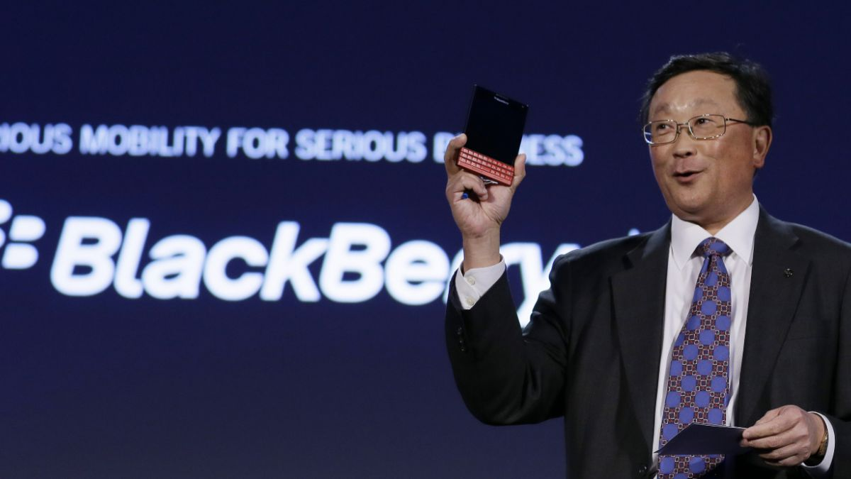 Samsung y Blackberry negaron posible compraventa