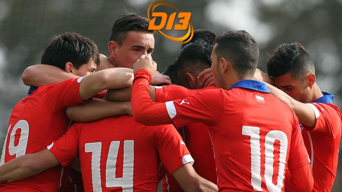 A partir de las 18.45 sigue el debut de Chile en Sudamericano Sub 20 por T13.cl
