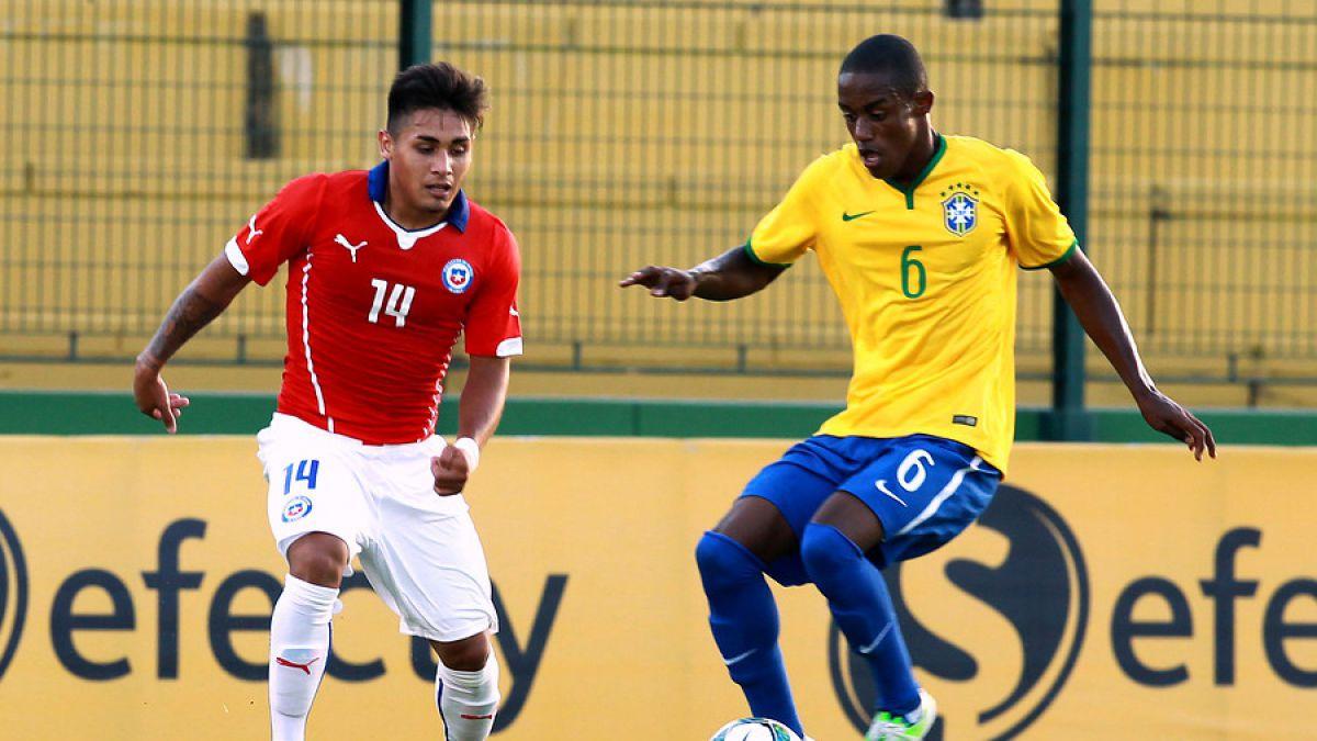 Chile cayó en su debut ante Brasil por el Sudamericano sub 20
