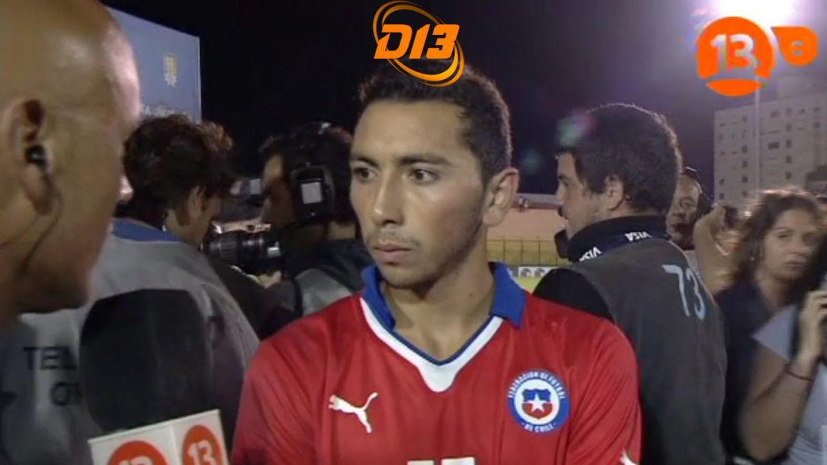 #Sub20enel13: Cristián Cuevas ya piensa en el próximo partido ante Venezuela
