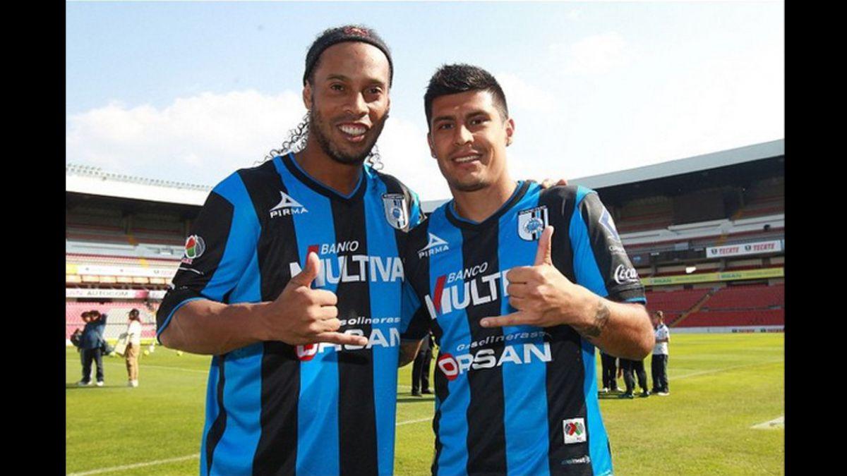 Patricio Rubio asegura estar demasiado feliz de jugar junto a Ronaldinho