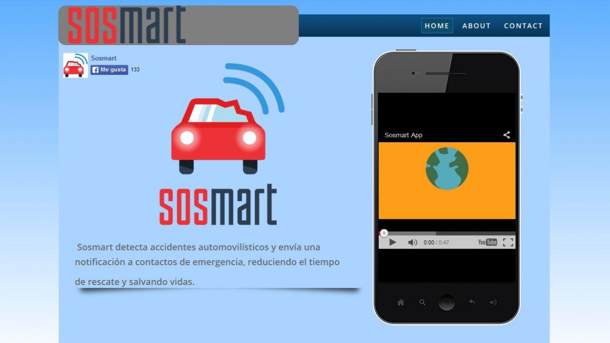 Así es la aplicación chilena que envía alertas en caso de choque