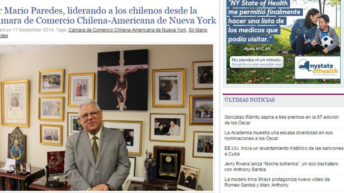Mario Paredes en entrevista de 2014: Bachelet fue muy cercana a todos nosotros