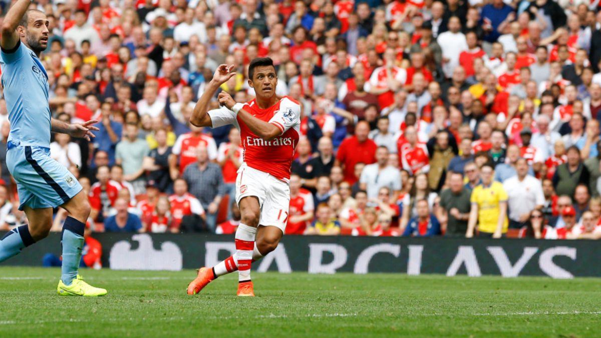 Manchester City vs. Arsenal FC: El frente a frente de Alexis y Pellegrini