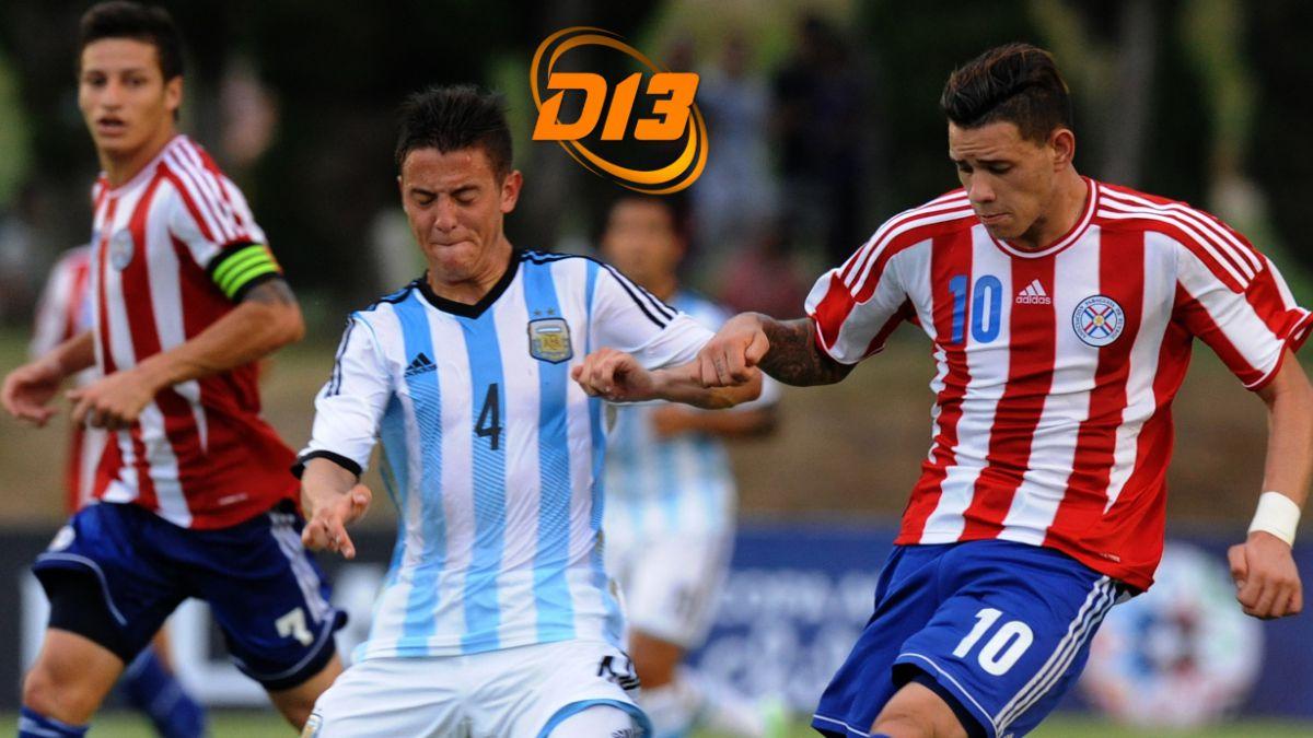 #Sub20enel13: Paraguay sorprende a Argentina y se queda con el liderato del Grupo A