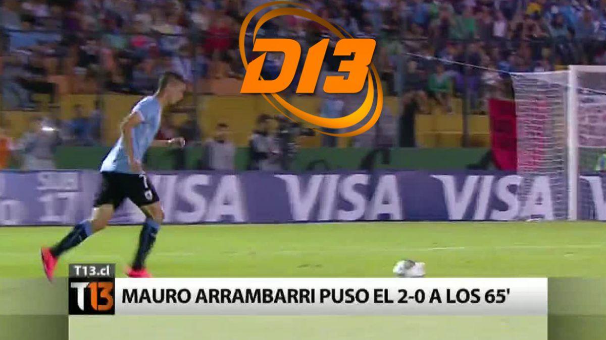 Uruguay sólido líder de su grupo: Revisa los goles entre charrúas y cariocas