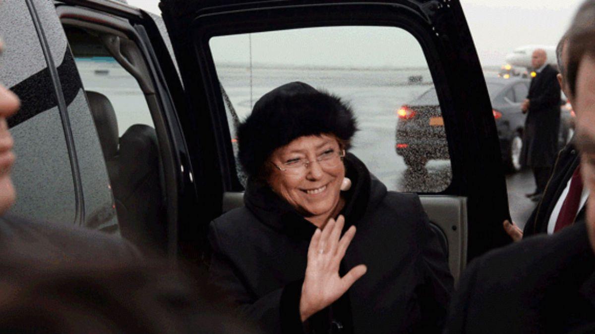 Presidenta Bachelet llega a Nueva York en el marco de su gira a EE.UU.