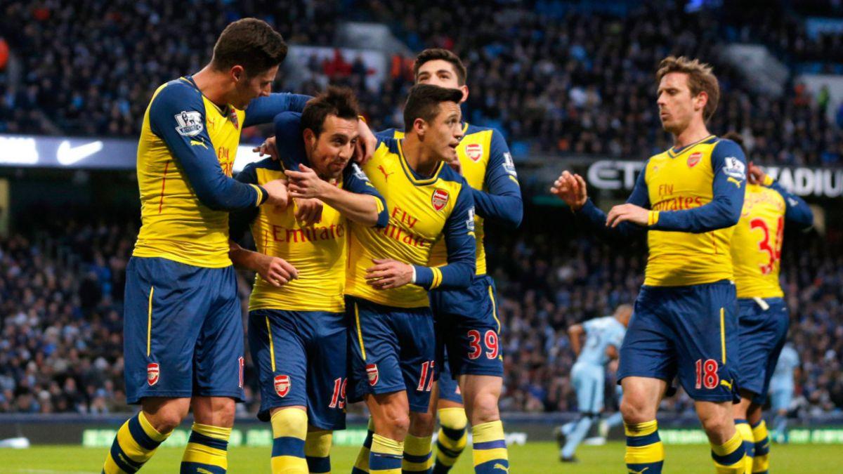 Arsenal de Sánchez propinó duro golpe al City de Pellegrini: Ganó 2-0 de visita