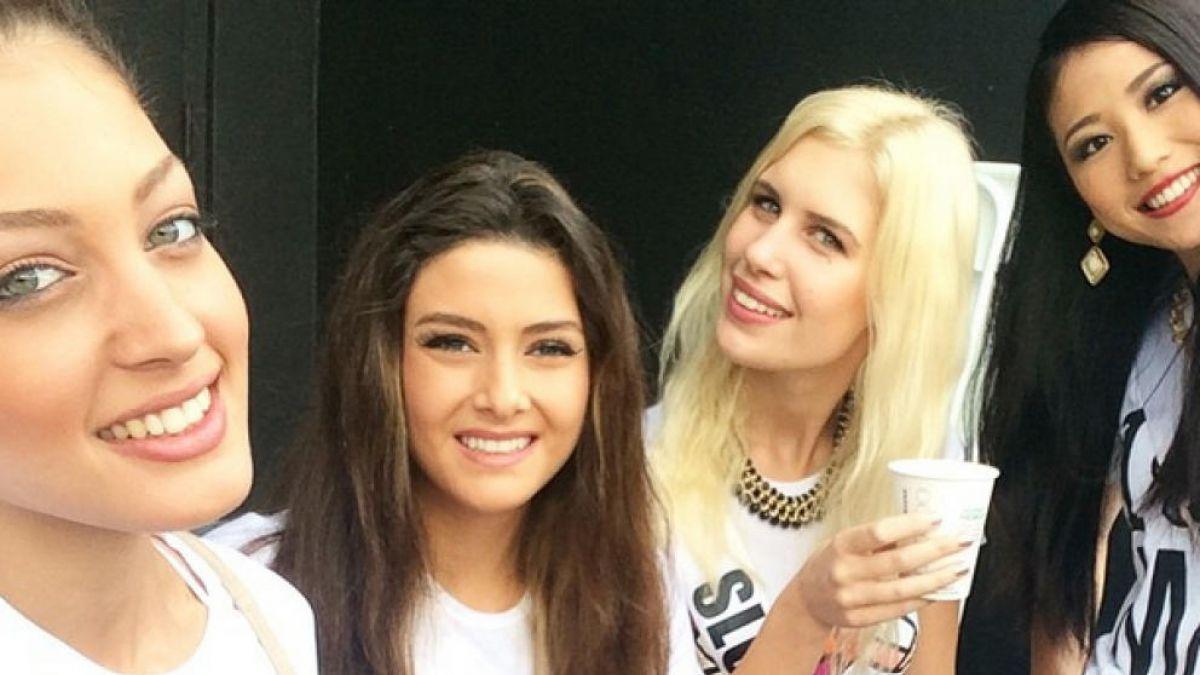 La selfie de Miss Israel que desató una controversia en Líbano